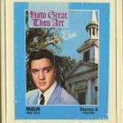 ELVIS PRESLEY--HOW GREAT THOU ART 8-Track Tape