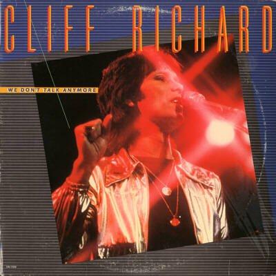 CLIFF RICHARD--WE DON'T TALK ANYMORE Vinyl LP