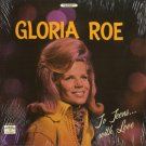 GLORIA ROE--TO TEENS...WITH LOVE Vinyl LP