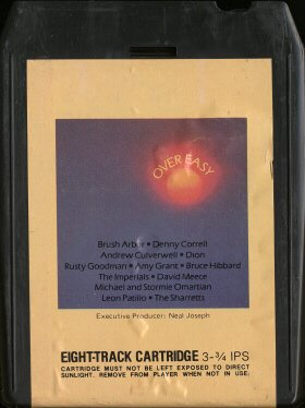 VARIOUS ARTISTS--OVER EASY 8-Track Tape