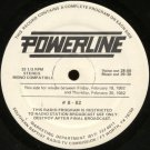 VARIOUS ARTISTS--POWERLINE #8/#9 -82 Vinyl LP