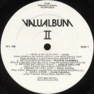 VARIOUS ARTISTS--VALUALBUM II Vinyl LP