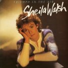 SHEILA WALSH--TRIUMPH IN THE AIR Vinyl LP (UK)