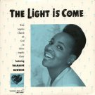 """THE WEST ANGELES CHURCH OF GOD IN CHRIST CHOIR FEATURING TRAMAINE HAWKINS--""""""""THE LIGHT IS COME"""""""" (ED"""