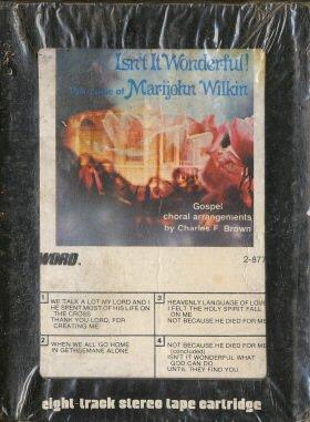 MARIJOHN WILKIN--ISN'T IT WONDERFUL 8-Track Tape