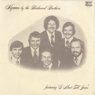 THE BLACKWOOD BROTHERS--HYMNS BY THE BLACKWOOD BROTHERS Vinyl LP