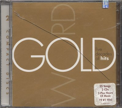 VARIOUS ARTISTS--WORD GOLD: FIVE DECADES OF HITS Compact Disc (CD)