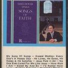 DAVE BOYER--SINGS SONGS OF FAITH Cassette Tape