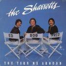THE SHARRETTS--YOU TURN ME AROUND Vinyl LP