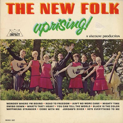 THE NEW FOLK--UPRISING! Vinyl LP