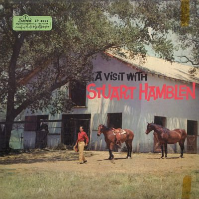 STUART HAMBLEN With The Darol Rice Orchestra & Chorus--A VISIT WITH STUART HAMBLEN MONO Vinyl LP