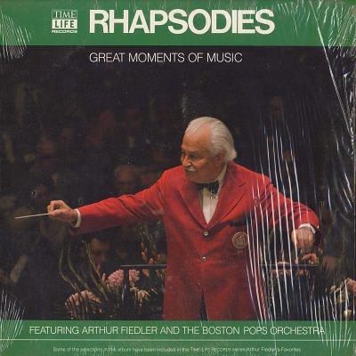 ARTHUR FIEDLER & THE BOSTON POPS ORCHESTRA--GREAT MOMENTS IN MUSIC: RHAPSODIES Vinyl LP