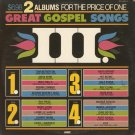 VARIOUS ARTISTS--GREAT GOSPEL SONGS III Vinyl LP