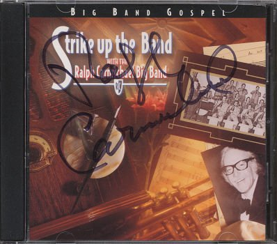 THE RALPH CARMICHAEL BIG BAND--STRIKE UP THE BAND *AUTOGRAPHED* Compact Disc (CD)