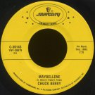 "CHUCK BERRY--""MAYBELLENE"" (2:35)/""SWEET LITTLE SIXTEEN"" (2:14) 45 RPM 7"""