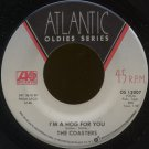 "THE COASTERS--""CHARLIE BROWN"" (2:12)/""I'M A HOG FOR YOU"" (1:59) 45 RPM 7"""