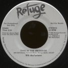 "WILL MCFARLANE-""THIS IS THE MESSAGE"" (2:24) (STEREO/STEREO) 45 RPM 7"" Vinyl"