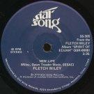 """FLETCH WILEY--""""NEW LIFE"""" (3:35) (Stereo/Stereo) 45 RPM 7"""" Vinyl"""