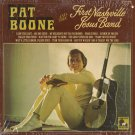 PAT BOONE--PAT BOONE AND THE FIRST NASHVILLE JESUS BAND Vinyl LP