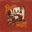 PARABLE--MORE THAN WORDS Vinyl LP