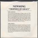 "NEWSONG WITH JIM MURRAY--""TROPHIES OF GRACE"" (4:25) (Stereo/Stereo) 45 RPM 7"" Vinyl"