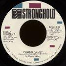 "POWER ALLEY--""POWER ALLEY"" (3:00)//""INTERVIEW"" (6:56)/RADIO PROMO-ID (0:07) 45 RPM 7"" Vinyl"