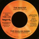 "THE (JOE) ENGLISH BAND--""THE MASTER"" (3:38)/""THE JOY OF THE LORD"" (4:12) 45 RPM 7"" Vinyl"