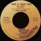 "BARRY MCGUIRE--""JESUS IS COMIN' BACK TO STAY""/""BULLFROGS & BUTTERFLIES"" 45 RPM 7"" Vinyl"