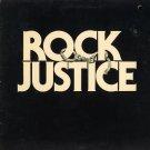VARIOUS ARTISTS--ROCK JUSTICE (SOUNDTRACK) Vinyl LP