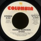 "HERBIE HANCOCK--""SPIDER"" (3:32) (Stereo/Mono) 45 RPM 7"" Vinyl"