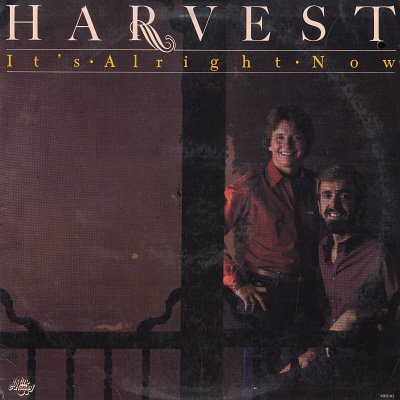 HARVEST--IT'S ALRIGHT NOW Vinyl LP