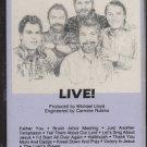 """BRUSH ARBOR--""""LIVE"""" Cassette Tape (1989 Custom Reissue Of Live Centerstage From 1985)"""