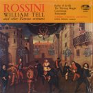 BAMBERG SYMPHONY ORCHESTRA/JOENL PERLEA--ROSSINI: WILLIAM TELL AND OTHER FAMOUS OVERTURES Vinyl LP