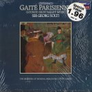 GEORG SOLTI/ORCHESTRA OF THE ROYAL OPERA HOUSE--OFFENBACH: GAITE PARISIENNE/GOUNOD: FAUST Vinyl LP
