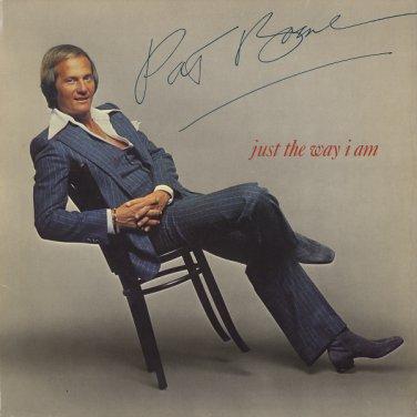 PAT BOONE--JUST THE WAY I AM Vinyl LP