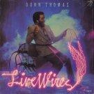 DONN THOMAS--LIVE WIRES Vinyl LP