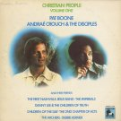 VARIOUS--CHRISTIAN PEOPLE VOLUME ONE Vinyl LP (Andrae Crouch, Pat Boone, 2nd Chapter Of Acts)