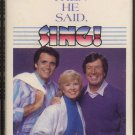 """BILL GAITHER TRIO--THEN HE SAID, """"SING!"""" 1985 Cassette Tape"""