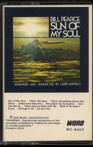 BILL PEARCE--THIS IS BILL PEARCE 1975 Cassette Tape