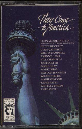 VARIOUS--THEY CAME TO AMERICA 86 Cassette Tape (Sandi Patti, Glen Campbell, Dobie Gray, Johnny Cash)