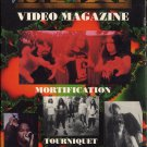 VARIOUS--HEAVEN'S METAL VIDEO MAGAZNIE VHS Video (Mortification, Tourniquet, Bloodgood)