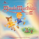 CANDLE--THE MUSIC MACHINE PART II 1983 Vinyl LP In Rare Updated Cover With Songs By Julie Miller