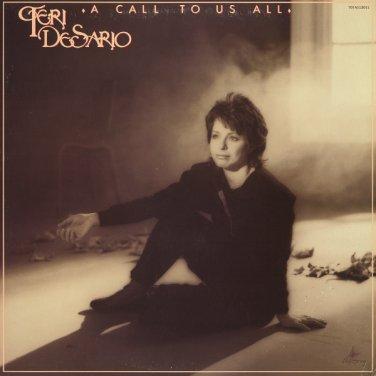 TERI DESARIO--A CALL TO US ALL 1983 Vinyl LP