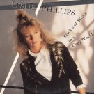 LESLIE PHILLIPS--BLACK AND WHITE IN A GREY WORLD 1985 Vinyl LP