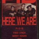 P.I.D.--HERE WE ARE 1988 Christian Rap Cassette Tape
