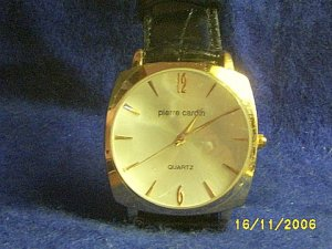 NEW PIERRE CARDIN MENS DRESS WATCH