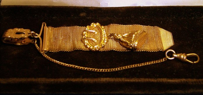 ANTIQUE WATCH FOB CHAIN