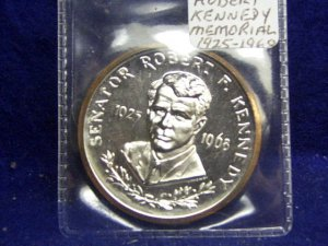 ROBERT KENNEDY MEMORIAL MEDALLION