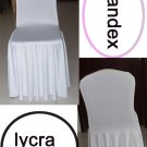 spandex chair covers with skirts