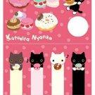 San-X Kutusita Nyanko I Love Kutusita Series Sticky Notes/Post-It - #209